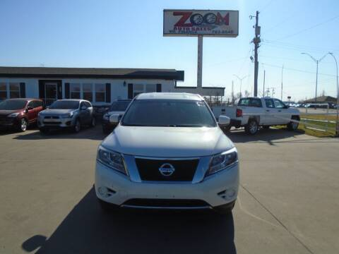 2013 Nissan Pathfinder for sale at Zoom Auto Sales in Oklahoma City OK