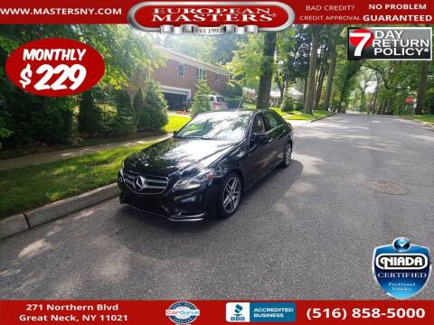 2015 Mercedes-Benz E-Class for sale at European Masters in Great Neck NY