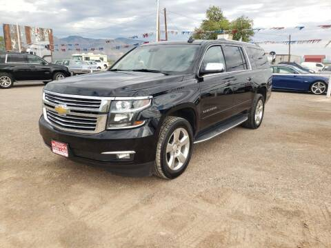 2015 Chevrolet Suburban for sale at Bickham Used Cars in Alamogordo NM