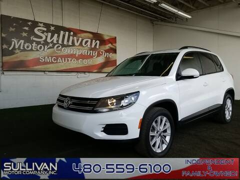 2017 Volkswagen Tiguan for sale at SULLIVAN MOTOR COMPANY INC. in Mesa AZ