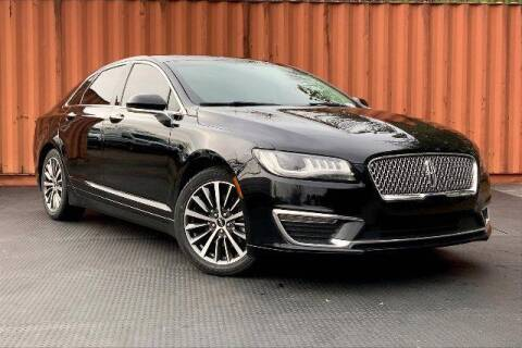 2017 Lincoln MKZ Hybrid for sale at CU Carfinders in Norcross GA