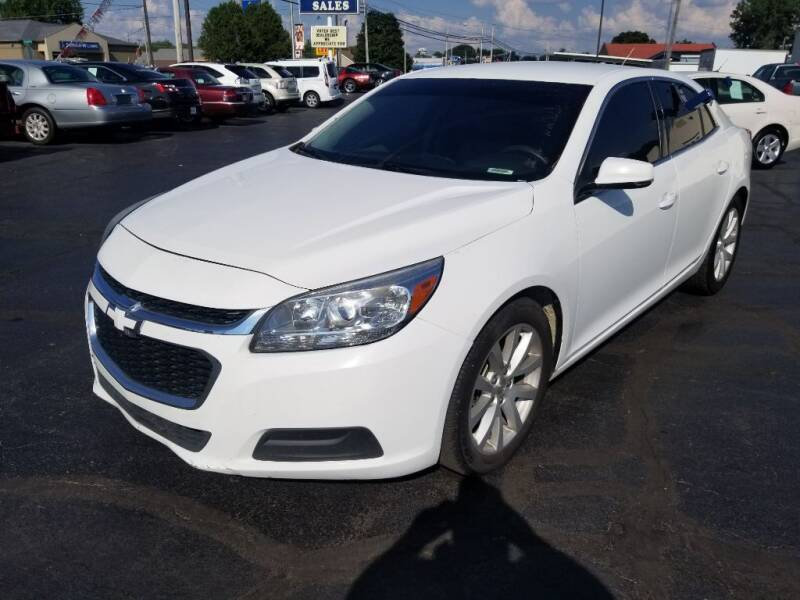 2015 Chevrolet Malibu for sale at Larry Schaaf Auto Sales in Saint Marys OH