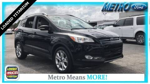 2016 Ford Escape for sale at Your First Vehicle in Miami FL