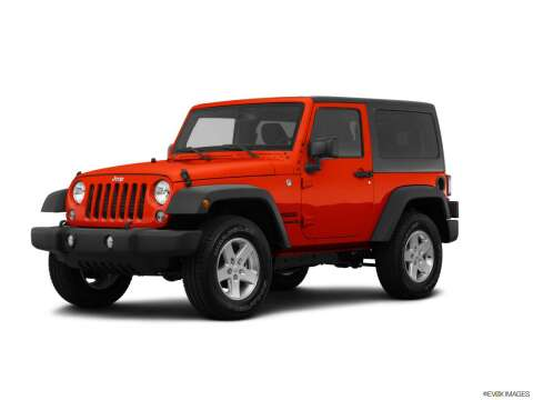 2015 Jeep Wrangler for sale at BORGMAN OF HOLLAND LLC in Holland MI