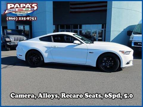 2017 Ford Mustang for sale at Papas Chrysler Dodge Jeep Ram in New Britain CT