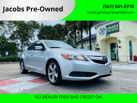 2014 Acura ILX for sale at Jacobs Pre-Owned in Lake Worth FL