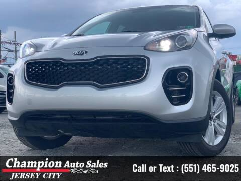 2019 Kia Sportage for sale at CHAMPION AUTO SALES OF JERSEY CITY in Jersey City NJ