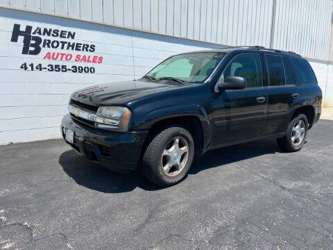 2008 Chevrolet TrailBlazer for sale at HANSEN BROTHERS AUTO SALES in Milwaukee WI