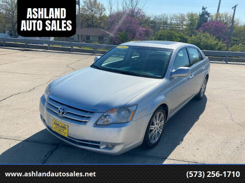 2007 Toyota Avalon for sale at ASHLAND AUTO SALES in Columbia MO
