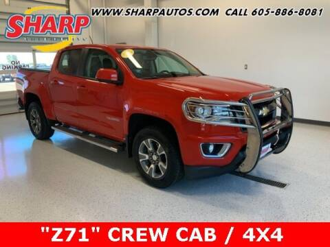 2015 Chevrolet Colorado for sale at Sharp Automotive in Watertown SD