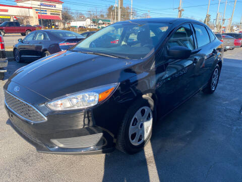 2017 Ford Focus for sale at Martins Auto Sales in Shelbyville KY