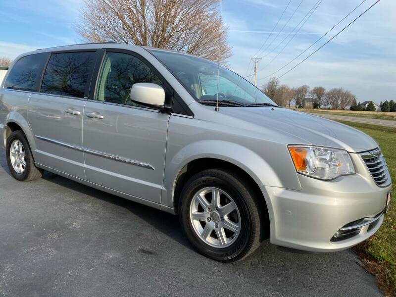 2012 Chrysler Town and Country for sale at McClain Auto Mall in Rochelle IL