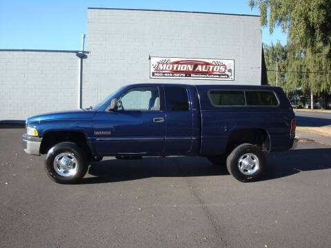 2001 Dodge RAM 250 for sale at Motion Autos in Longview WA