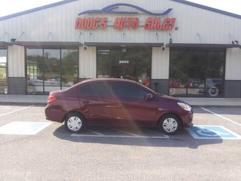 2020 Mitsubishi Mirage G4 for sale at DOUG'S AUTO SALES INC in Pleasant View TN