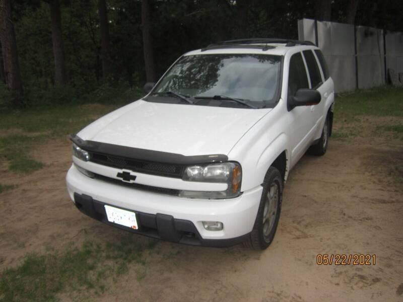 2005 Chevrolet TrailBlazer for sale at SUNNYBROOK USED CARS in Menahga MN
