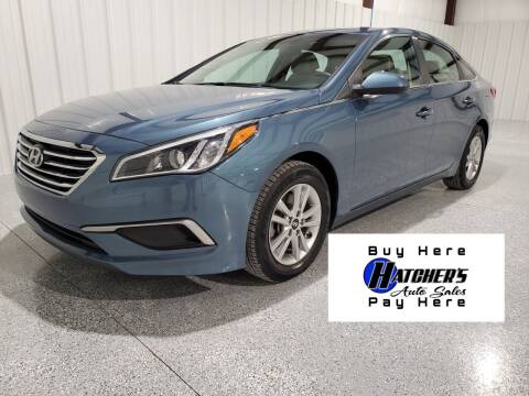 2017 Hyundai Sonata for sale at Hatcher's Auto Sales, LLC - Buy Here Pay Here in Campbellsville KY