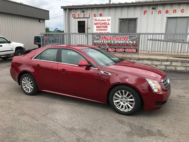2012 Cadillac CTS for sale at Mitchell Motor Company in Madison TN