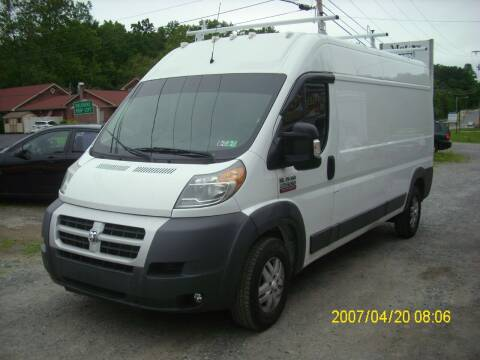 2014 RAM ProMaster Cargo for sale at Motors 46 in Belvidere NJ