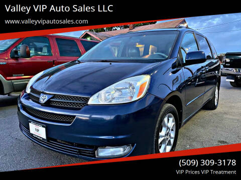 2005 Toyota Sienna for sale at Valley VIP Auto Sales LLC in Spokane Valley WA