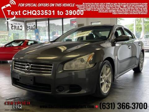 2009 Nissan Maxima for sale at CERTIFIED HEADQUARTERS in Saint James NY