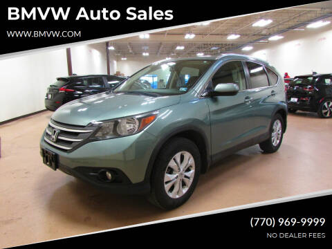 2012 Honda CR-V for sale at BMVW Auto Sales - Trucks and Vans in Union City GA
