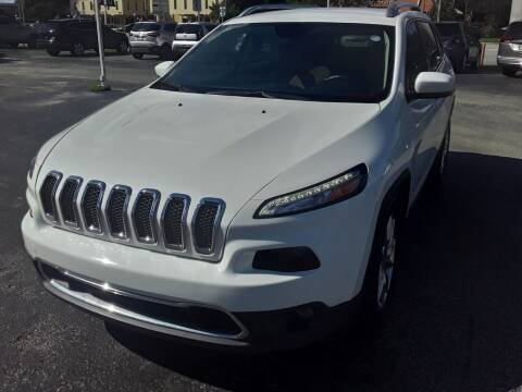 2016 Jeep Cherokee for sale at YOUR BEST DRIVE in Oakland Park FL