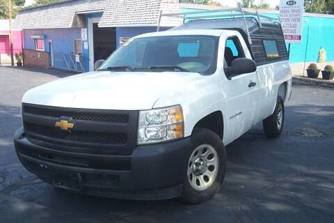 2012 Chevrolet Silverado 1500 for sale at BAR Auto Sales in Brockton MA