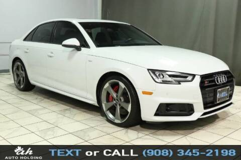 2018 Audi S4 for sale at AUTO HOLDING in Hillside NJ