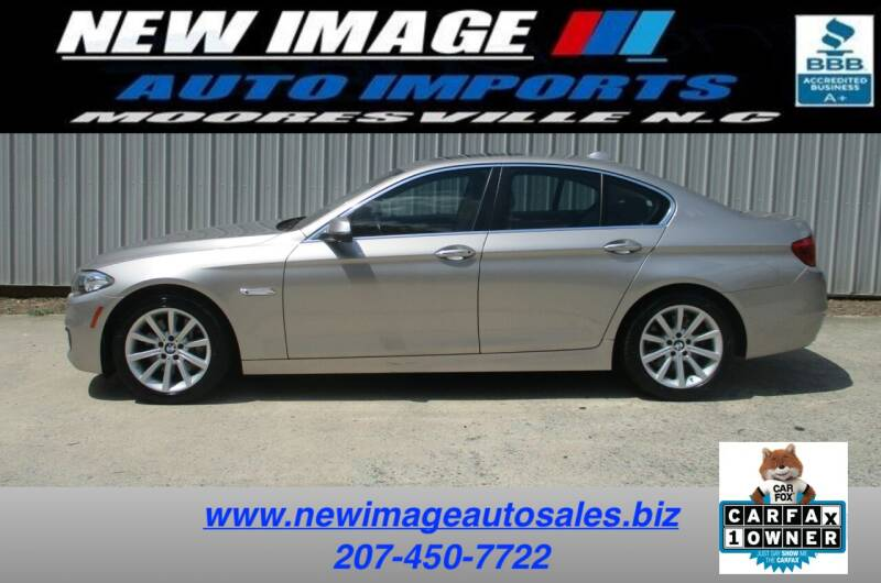 2015 BMW 5 Series for sale at New Image Auto Imports Inc in Mooresville NC
