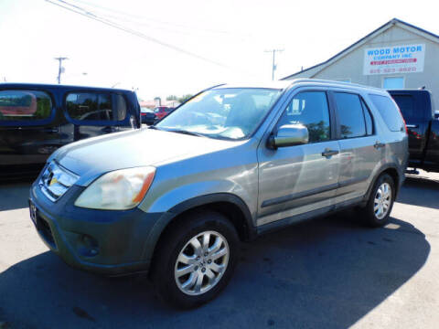 2006 Honda CR-V for sale at WOOD MOTOR COMPANY in Madison TN