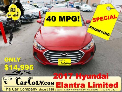 2017 Hyundai Elantra for sale at The Car Company in Las Vegas NV