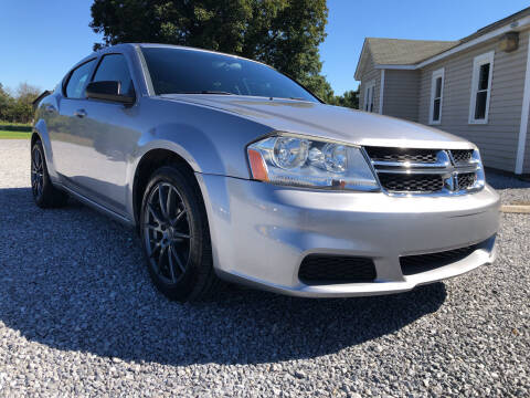 2014 Dodge Avenger for sale at Curtis Wright Motors in Maryville TN