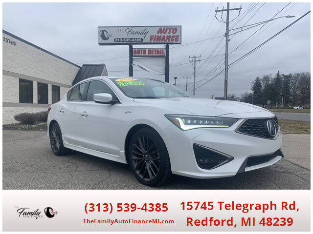 2019 Acura ILX for sale at The Family Auto Finance in Redford MI