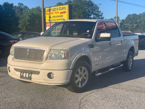 2007 Lincoln Mark LT for sale at Luxury Cars of Atlanta in Snellville GA