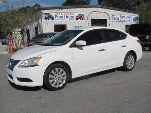 2015 Nissan Sentra for sale at Pure 1 Auto in New Bern NC