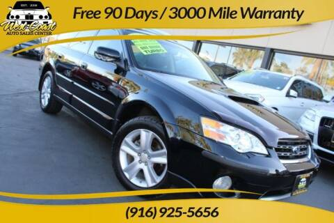 2007 Subaru Outback for sale at West Coast Auto Sales Center in Sacramento CA