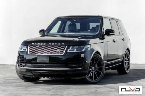 2018 Land Rover Range Rover for sale at Nuvo Trade in Newport Beach CA