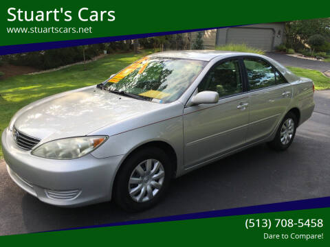 2005 Toyota Camry for sale at Stuart's Cars in Cincinnati OH