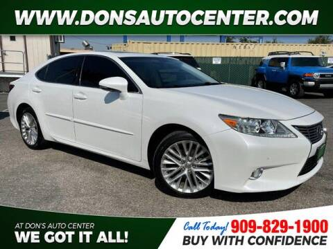 2013 Lexus ES 350 for sale at Dons Auto Center in Fontana CA