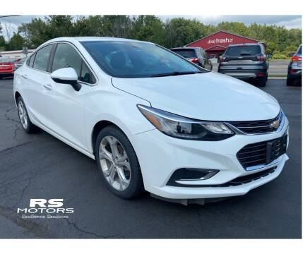 2017 Chevrolet Cruze for sale at RS Motors in Falconer NY
