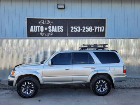 2000 Toyota 4Runner for sale at Austin's Auto Sales in Edgewood WA