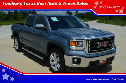 2015 GMC Sierra 1500 for sale at Fincher's Texas Best Auto & Truck Sales in Tomball TX