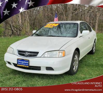 2000 Acura TL for sale at Chicagoland Internet Auto - 410 N Vine St New Lenox IL, 60451 in New Lenox IL