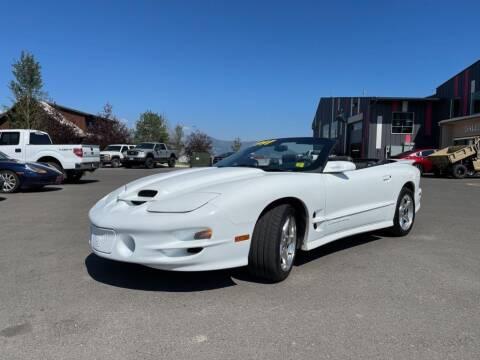 1998 Pontiac Firebird for sale at Snyder Motors Inc in Bozeman MT