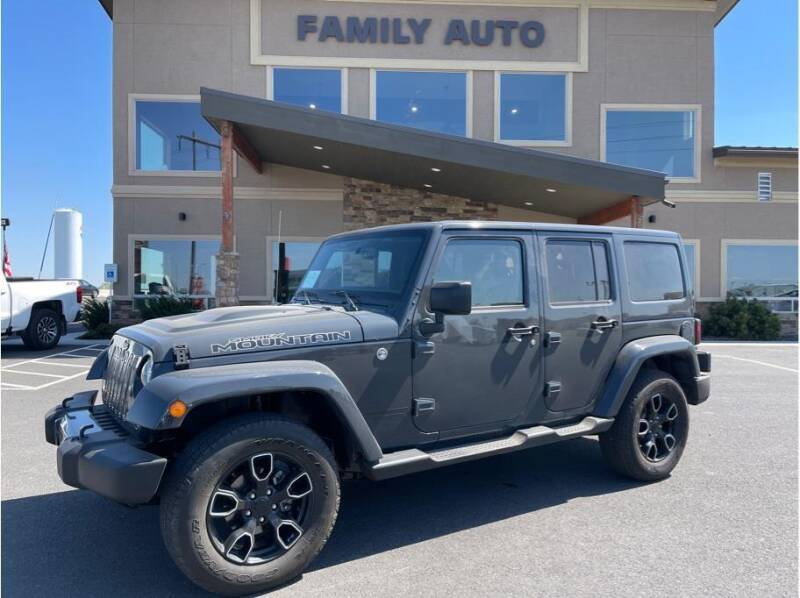 2017 Jeep Wrangler Unlimited for sale at Moses Lake Family Auto Center in Moses Lake WA