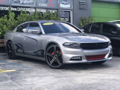 2016 Dodge Charger for sale at CARUCARS LLC in Miami FL