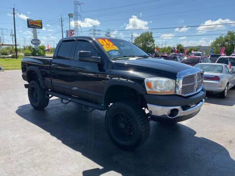 2006 Dodge Ram Pickup 2500 for sale at Texas 1 Auto Finance in Kemah TX