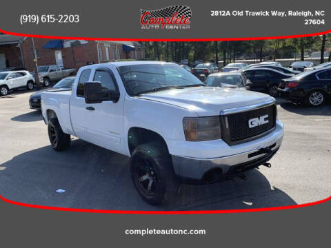 2013 GMC Sierra 1500 for sale at Complete Auto Center , Inc in Raleigh NC