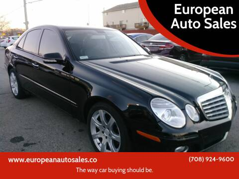 2007 Mercedes-Benz E-Class for sale at European Auto Sales in Bridgeview IL