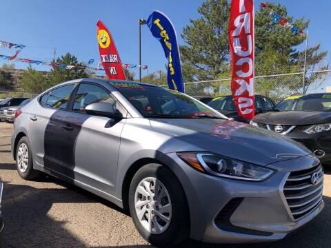 2017 Hyundai Elantra for sale at Duke City Auto LLC in Gallup NM